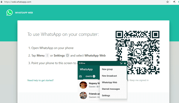 WhatsApp Perkenal Versi Web