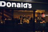 McDonalds Jepun Burger Dengan Dakwat Sotong