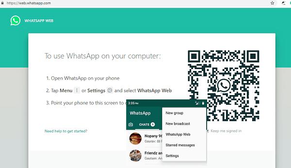 whatsapp web - WhatsApp Perkenal Versi Web